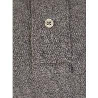 Polo Ralph Lauren Grey Custom Slim Fit Mesh Polo