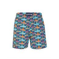 Vilebrequin Blue Mykonos Sailboat Swim Shorts