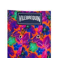 Vilebrequin Orange Floral Swim Shorts