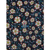 Vivienne Westwood Black Krall Flowers Shirt