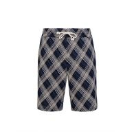 Maison Margiela Blue Check Shorts