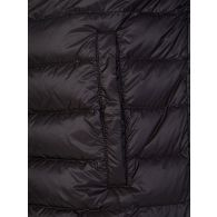 Moncler Black Neveu Down Logo Puffer Jacket