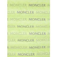 Moncler Green Hooded Logo Puffer Jacket