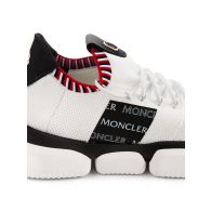 Moncler White Bubble Trainers