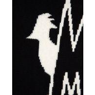 Moncler Black Logo Crew Neck Knitted Jumper