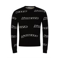 Moncler Black Wool Jumper