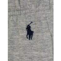 Polo Ralph Lauren Grey Cotton Jersey Sleep Shorts