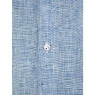 Orlebar Brown Navy/White Gile Linen Shirt