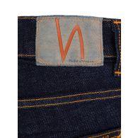 Nudie Jeans Co. Dark Indigo Blue Rinse Tight Terry