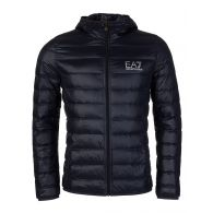 Emporio Armani EA7 Navy Hoody Puffer Jacket