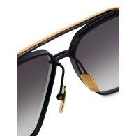 DITA Black/Yellow Gold Mach-Six Limited Sunglasses