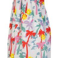 Stella McCartney Kids White Palms Cotton Dress