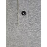 Stone Island Junior Grey Long-Sleeve Compass Polo Shirt