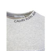 Calvin Klein Jeans Kids Grey Logo Piping Sweatshirt