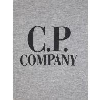 C.P. Company Undersixteen Grey Lens Arm Logo Sweatshirt