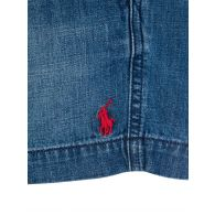 Polo Ralph Lauren Kids Blue Denim Prepster Shorts