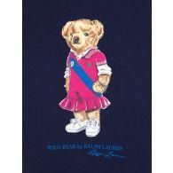 Polo Ralph Lauren Kids Navy Bear Fleece Sweatshirt