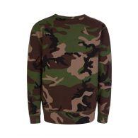 Polo Ralph Lauren Kids Brown Camo Fleece Sweatshirt