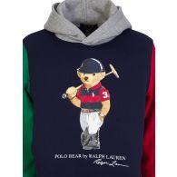 Polo Ralph Lauren Kids Navy Polo Bear Fleece Hoodie
