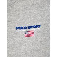 Polo Ralph Lauren Kids Grey Polo Sport Logo Fleece Hoodie