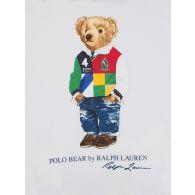 Polo Ralph Lauren Kids White Bear Hoodie