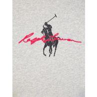Polo Ralph Lauren Kids Grey Big Pony Logo Fleece Sweatshirt