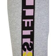 Stella McCartney Kids Grey Sports Logo Tape Sweatpants