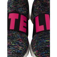 Stella McCartney Kids Black Logo Sock Trainers