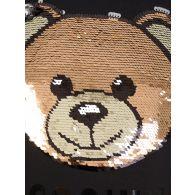 Moschino Kids Black Long-Sleeve Maxi T-Shirt