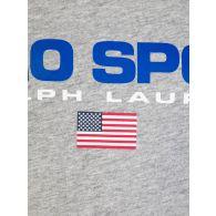 Polo Ralph Lauren Kids Grey Polo Sport Classic Logo T-Shirt