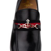 Vivienne Westwood Black Orb Loafers