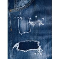 Dsquared2 Dark Blue Ripped Wash Cool Guy Jeans