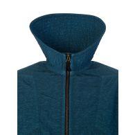 Maison Margiela Blue Nylon Canvas Bomber Jacket