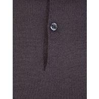John Smedley Grey Cpayton Polo Shirt