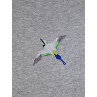 Axel Arigato Grey Tori Bird Hoodie