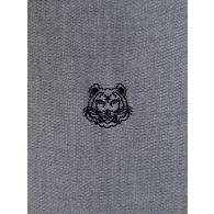 KENZO Grey Tiger Head Oxford Shirt