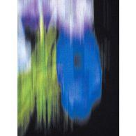 KENZO Black Blurred Floral Graphic Print Hoodie