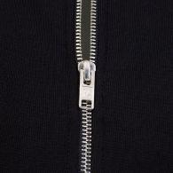 KENZO Black Tiger Patch Logo Zip-Through Hoodie
