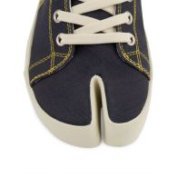 Maison Margiela Navy Tabi MM Embroidery High-Top Trainers