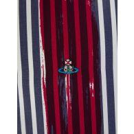 Vivienne Westwood Painted Stripes Slim Fit Shirt