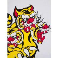 KENZO x Kansai Yamamoto White Three Tigers T-Shirt