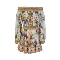 Camilla By The Meadow Off The Shoulder Short Dress