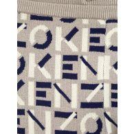 KENZO Grey Sport Jacquard Monogram Sweatpants