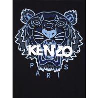 KENZO Black Embroidered Tiger Logo Sweatshirt