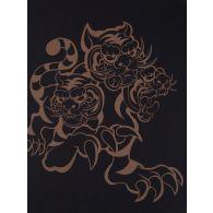KENZO x Kansai Yamamoto Black 'Three Tigers' T-Shirt