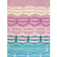 Ruth Erotokritou Pink/Blue V Neck Vest Top