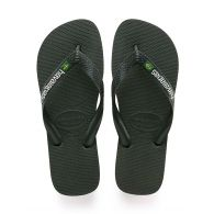 Havaianas Green Brasil Flip Flops