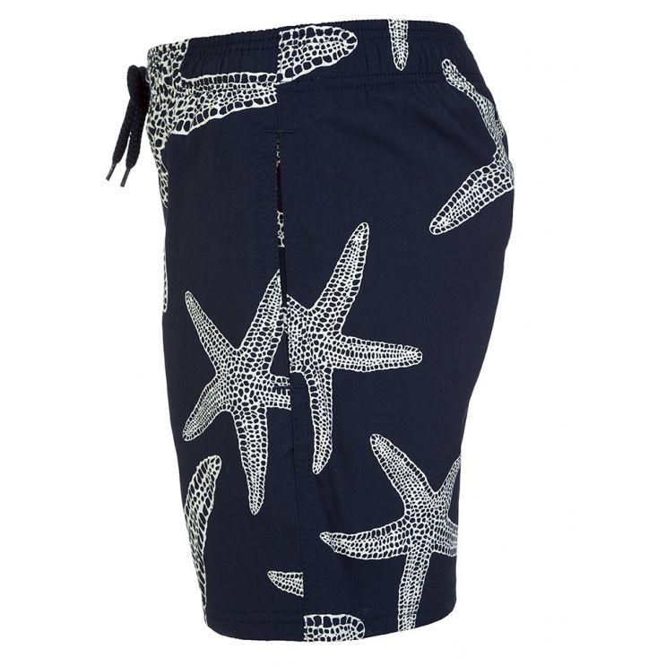 Vilebrequin Junior Navy Starlette Glow in the Dark Swim Shorts