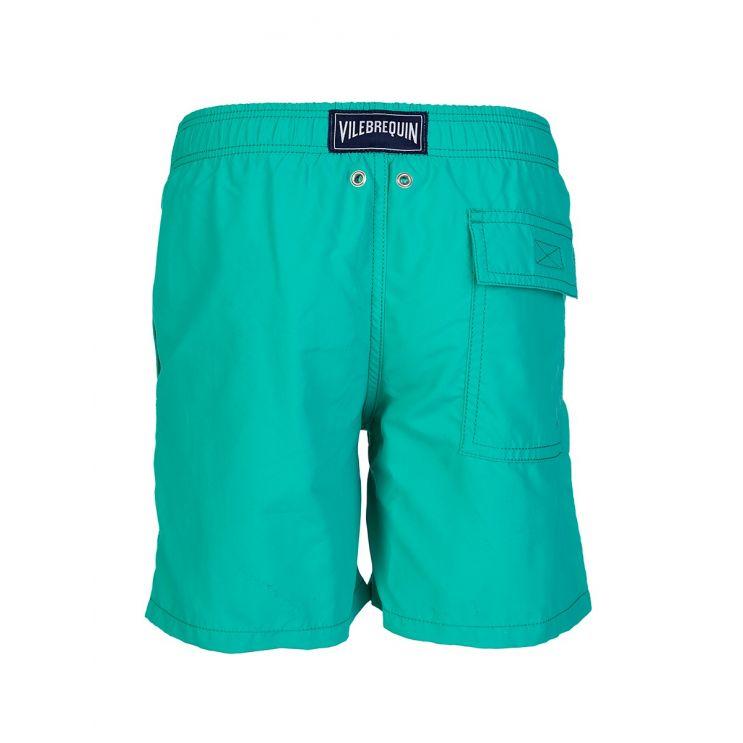 Vilebrequin Junior Green Aqua Magic Swim Shorts