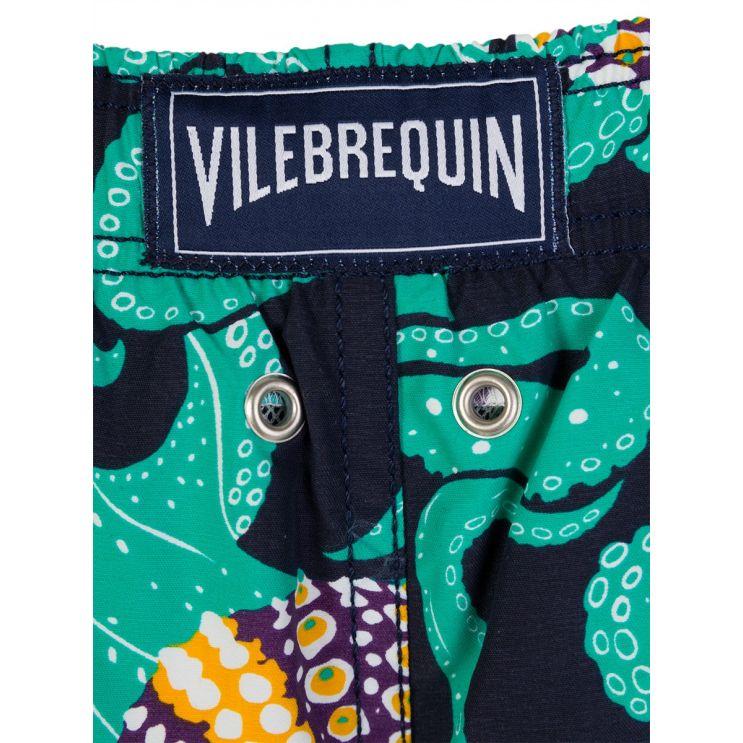 Vilebrequin Junior Navy Octopus Swim Shorts